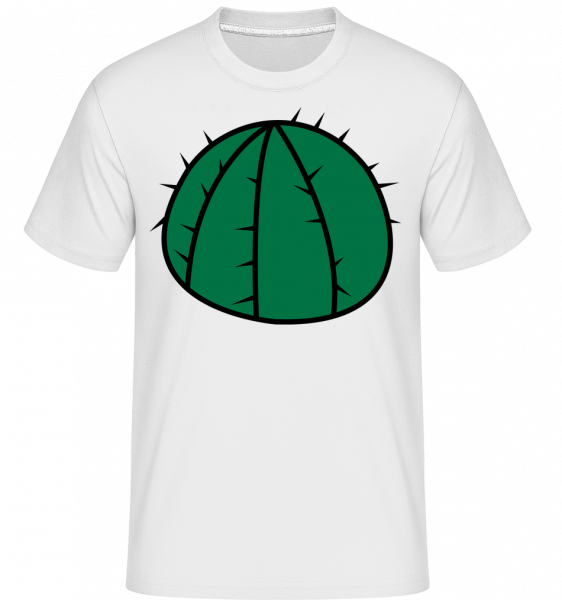 Cactus Comic -  Shirtinator tričko pre pánov - Biela - Predné