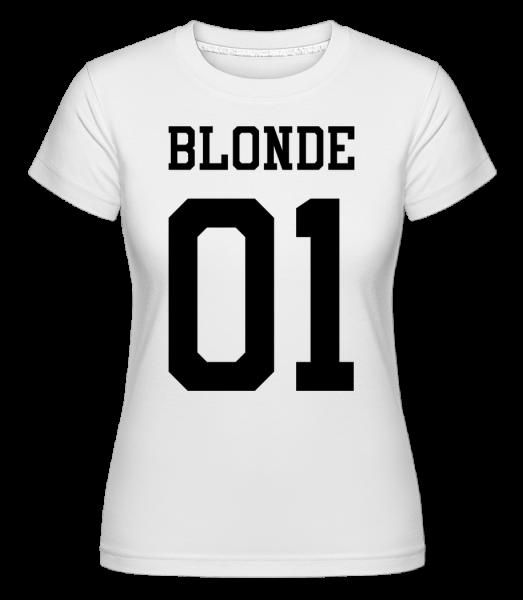 blonde 01 -  Shirtinator tričko pre dámy - Biela - Predné