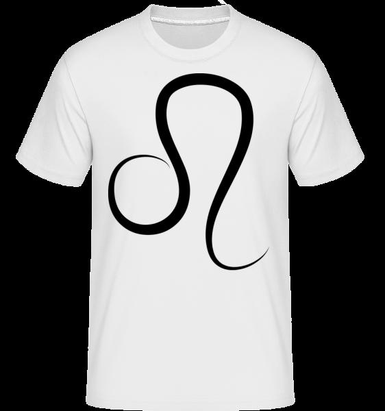 leo Sign -  Shirtinator tričko pre pánov - Biela - Predné