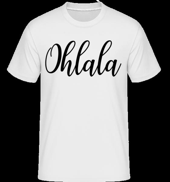 Ohlala -  Shirtinator tričko pre pánov - Biela - Predné