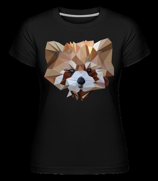 polygón Bear -  Shirtinator tričko pre dámy - Čierna1 - Predné