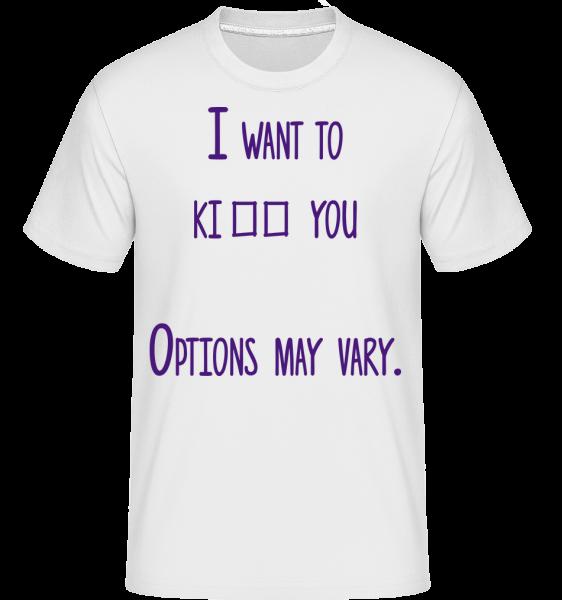Možnosti sa môžu líšiť -  Shirtinator tričko pre pánov - Biela - Predné