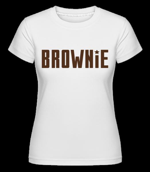 šotek -  Shirtinator tričko pre dámy - Biela - Predné
