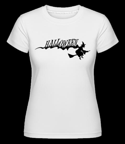 Halloween Witch - Shirtinator tričko pre dámy - Biela - Predné