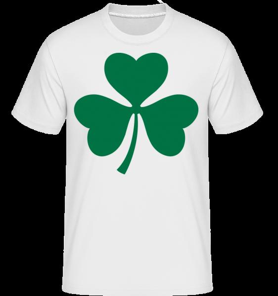 Ireland Cloverleaf -  Shirtinator tričko pre pánov - Biela - Predné
