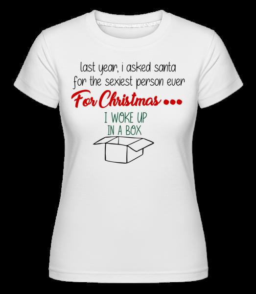 Sexiest osoba je Me -  Shirtinator tričko pre dámy - Biela - Predné
