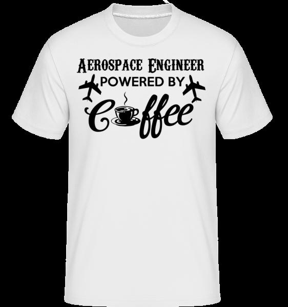 Aerospace Engineer - Shirtinator tričko pre pánov - Biela - Predné