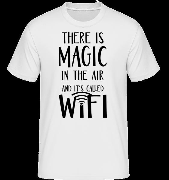 Mágia In The Air - Shirtinator tričko pre pánov - Biela - Predné