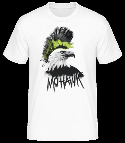 Mohawk - Pánske basic tričko - Biela - Predné