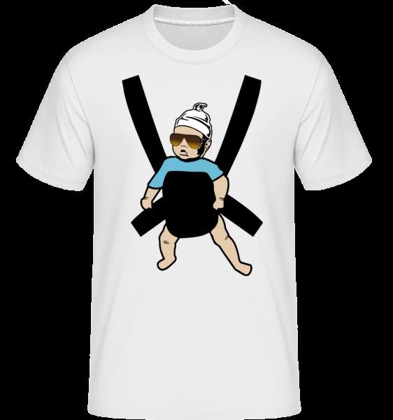 Hangover Baby - Shirtinator tričko pre pánov - Biela - Predné