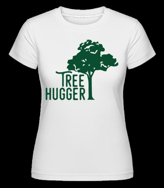 Tree Hugger - Shirtinator tričko pre dámy - Biela - Predné