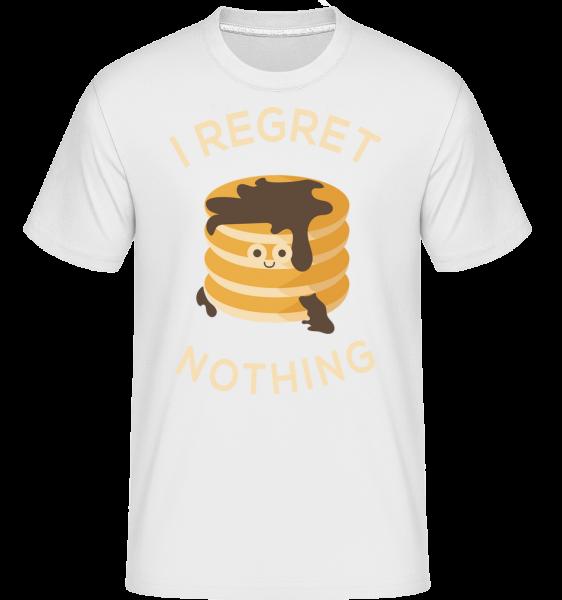 Je mi ľúto, Nič Palacinka -  Shirtinator tričko pre pánov - Biela - Predné