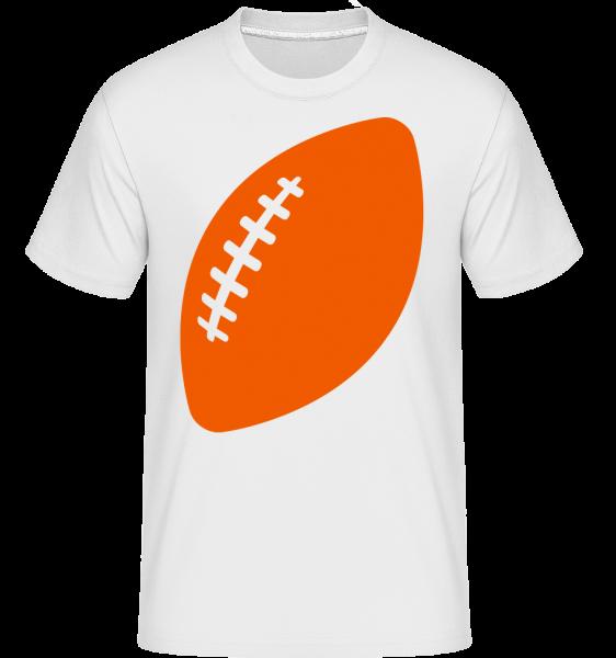 Rugby Comic - Shirtinator tričko pre pánov - Biela - Predné