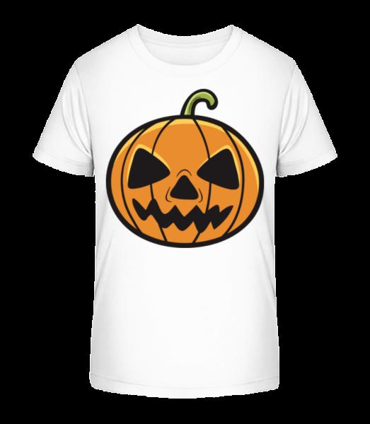 tekvica - Detské Premium Bio tričko - Biela - Predné
