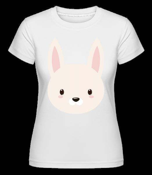 Bunny Comic -  Shirtinator tričko pre dámy - Biela - Predné