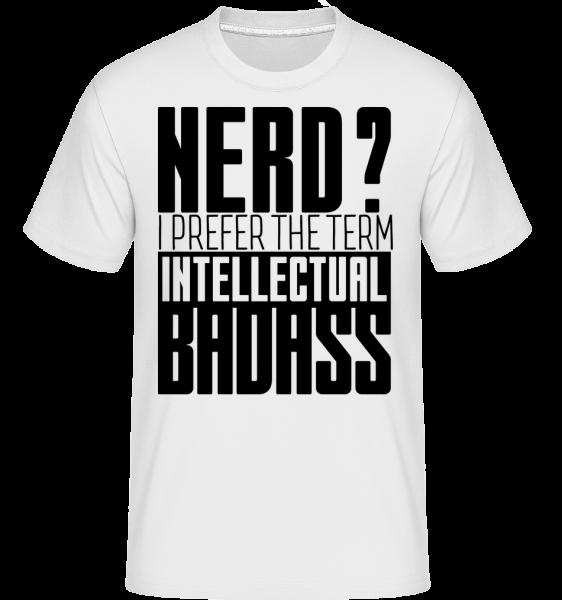 Bifľoš? poriadnej -  Shirtinator tričko pre pánov - Biela - Predné