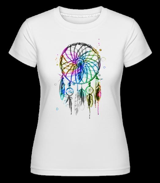 Mystical Dream Catcher - Shirtinator tričko pre dámy - Biela - Predné