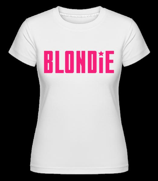 Blondie - Shirtinator tričko pre dámy - Biela - Predné