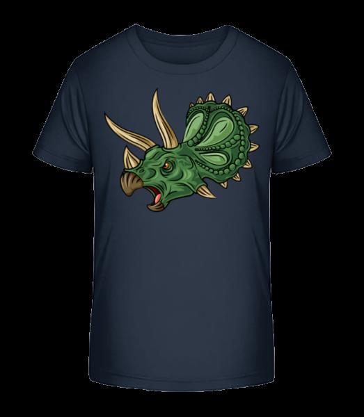 Dinosaur Comic - Detské Premium Bio tričko - Namornícka modrá - Predné