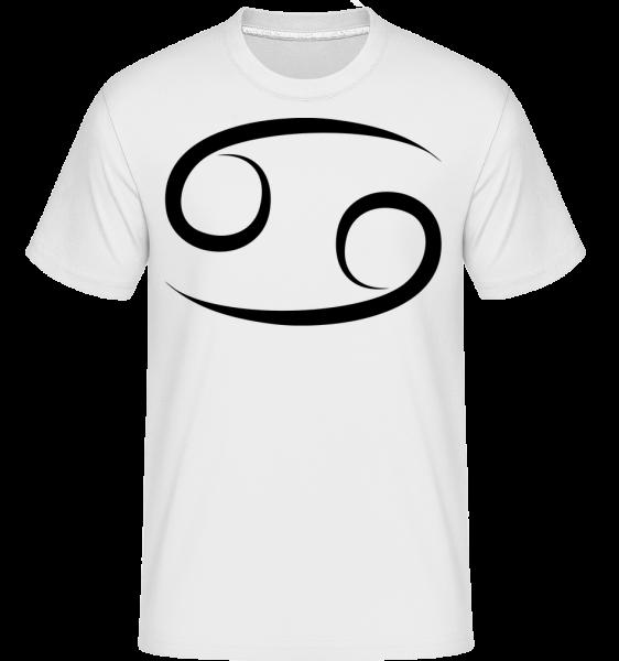 cancer Sign -  Shirtinator tričko pre pánov - Biela - Predné
