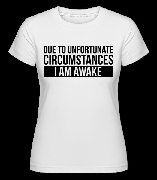 Som hore - Shirtinator tričko pre dámy - Biela - Predné