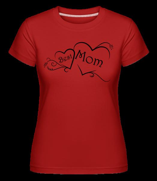best Mom -  Shirtinator tričko pre dámy - Červená - Predné