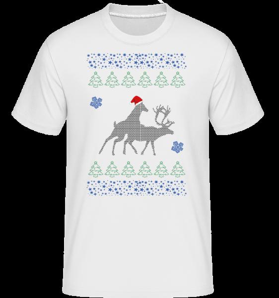 sobov Party -  Shirtinator tričko pre pánov - Biela - Predné