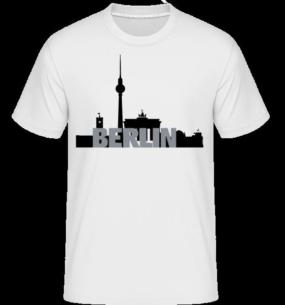 Berlin, Nemecko -  Shirtinator tričko pre pánov - Biela - Predné