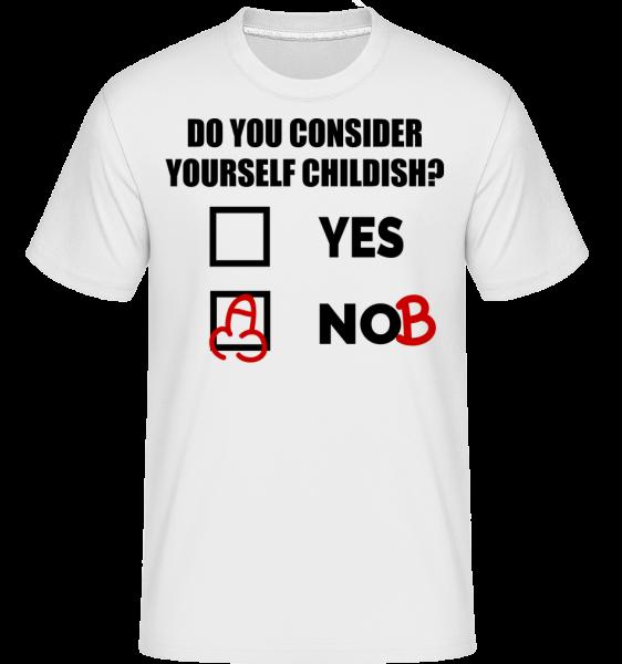 Ste Detinský? - Shirtinator tričko pre pánov - Biela - Predné