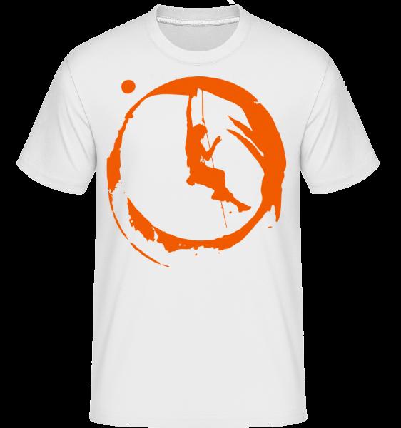 Climbing - Shirtinator tričko pre pánov - Biela - Predné