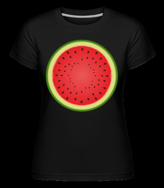 Watermelon - Shirtinator tričko pre dámy - Čierna1 - Predné