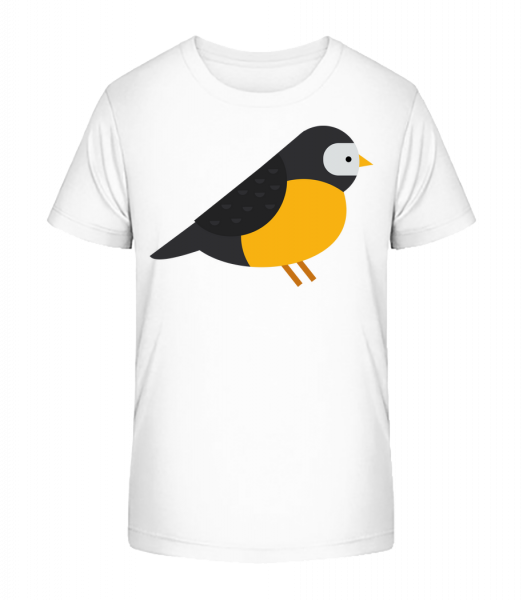 Titmouse Image - Detské Premium Bio tričko - Biela - Predné