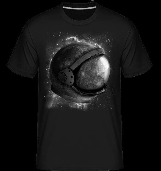 Astronaut'Helmet - Shirtinator tričko pre pánov - Čierna1 - Predné
