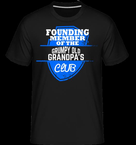 Grumpy Old Grandpas Club - Shirtinator tričko pre pánov - Čierna - Predné