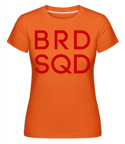 nevesta Squad -  Shirtinator tričko pre dámy - Oranžová - Predné