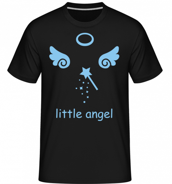 anjelik Wings -  Shirtinator tričko pre pánov - Čierna1 - Predné