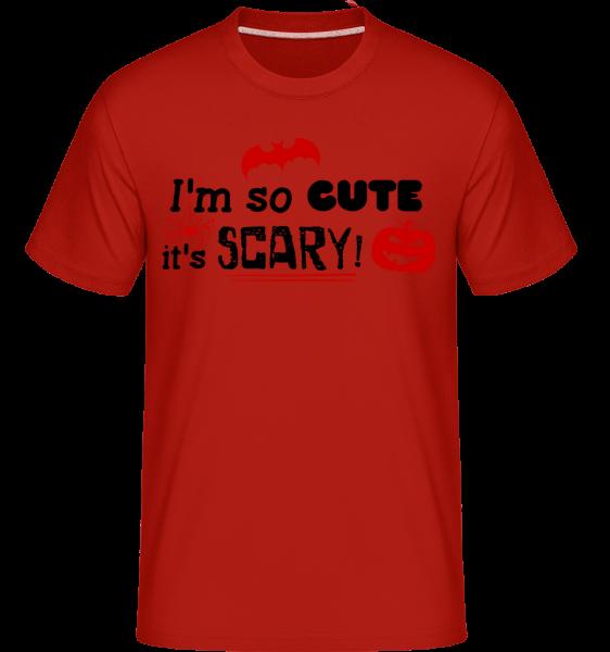 So Cute It's Scary - Shirtinator tričko pre pánov - Červená - Predné