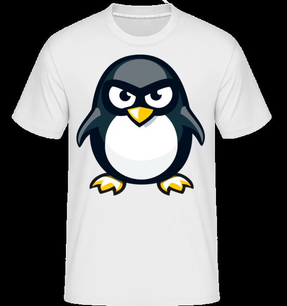 Penguin Kids -  Shirtinator tričko pre pánov - Biela - Predné