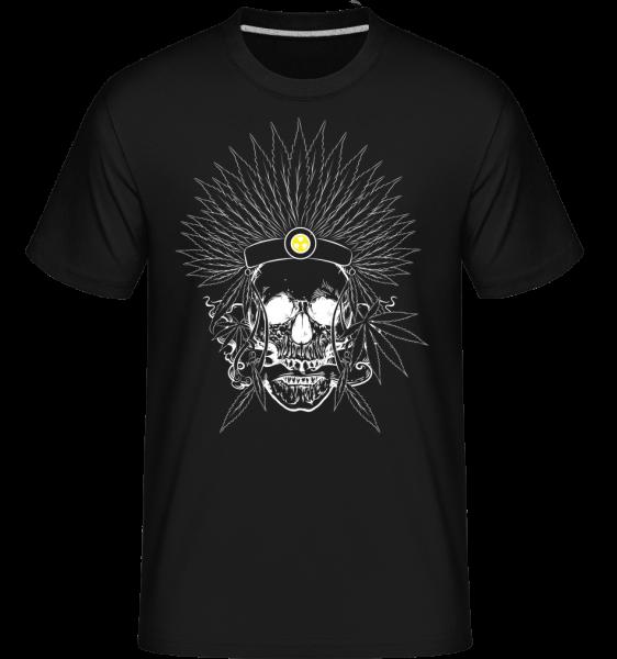 Skull Tattoo -  Shirtinator tričko pre pánov - Čierna1 - Predné