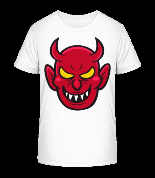 Nasty Diabol - Detské Premium Bio tričko - Biela - Predné