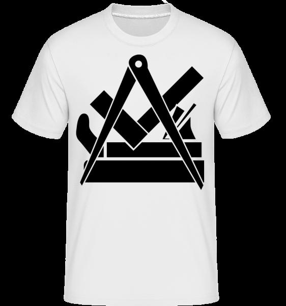 DIY Icon -  Shirtinator tričko pre pánov - Biela - Predné