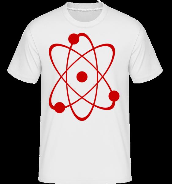 Symbol Of An Atom -  Shirtinator tričko pre pánov - Biela - Predné
