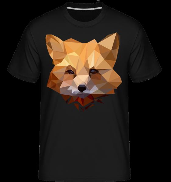 Polygon Fox - Shirtinator tričko pre pánov - čierna - Predné