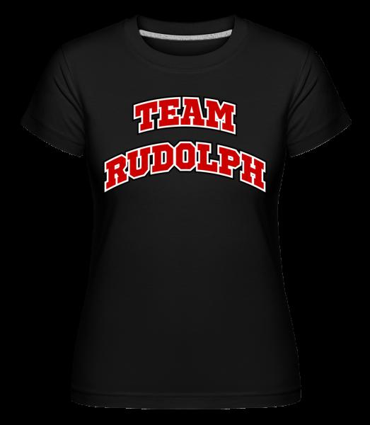 tím Rudolph -  Shirtinator tričko pre dámy - Čierna1 - Predné