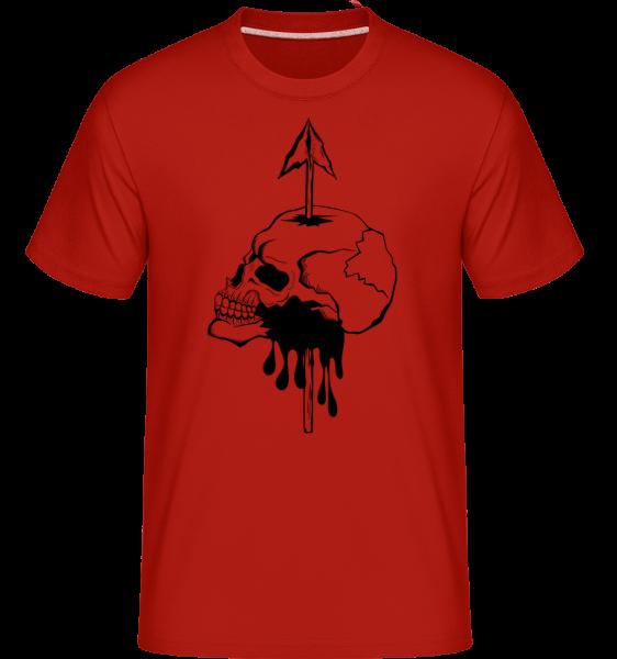 Death By Spear -  Shirtinator tričko pre pánov - Červená - Predné