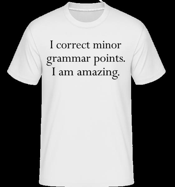 I Am Amazing - Shirtinator tričko pre pánov - Biela - Predné