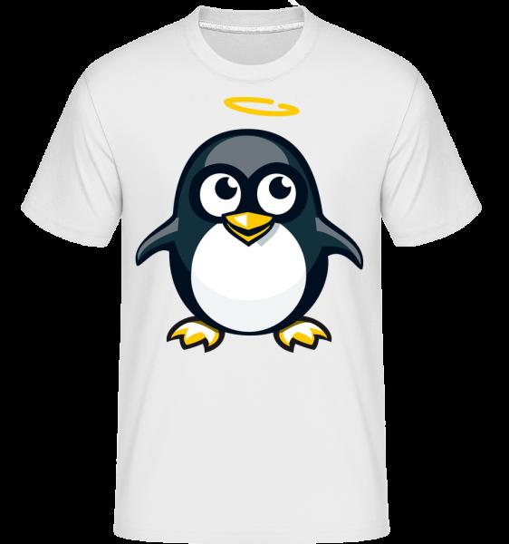 Angel Penguin -  Shirtinator tričko pre pánov - Biela - Predné