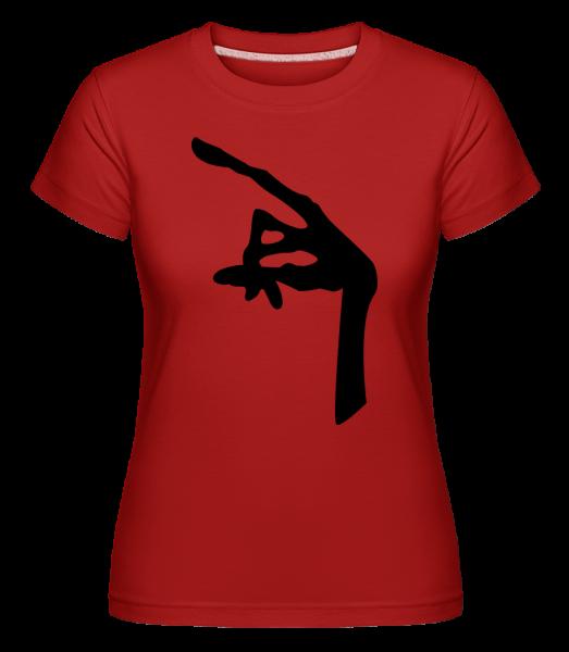 Hand Of An Alien - Shirtinator tričko pre dámy - Červená - Predné
