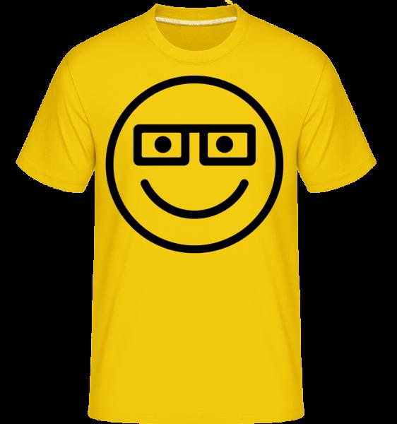 Smiley Emoticon -  Shirtinator tričko pre pánov - Zlatožltá - Predné