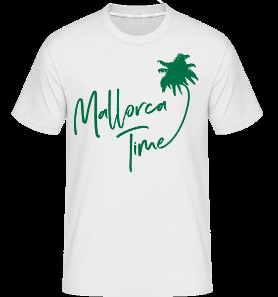 Mallorca Time -  Shirtinator tričko pre pánov - Biela - Predné